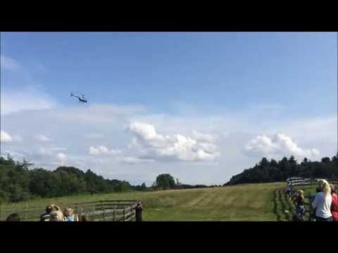 Helicopter Golf Ball Drop Fundraiser 2014