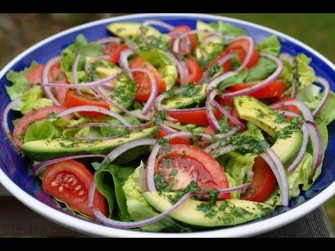 Recetas de ensaladas frescas de verduras