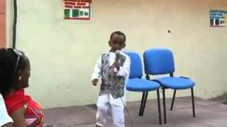 Amazing Ethiopian Kid Presenting Poetry: ECADF Ethiopian news videos