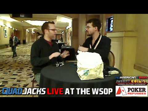 Adam Friedman Rant Station freestyle QuadJacks Live at the WSOP June 22, 2012