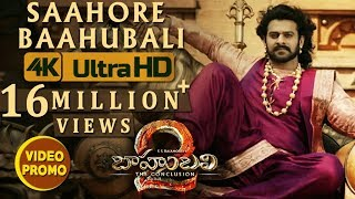 Saahore Baahubali Video Song Promo - Baahubali 2
