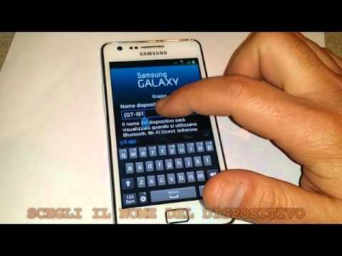 Galaxy: Ripristino dati di fabbrica con Hard Reset- S2/S2 Plus