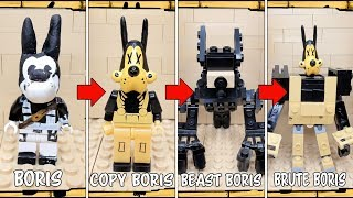 Types of characters Lego Bendy and the Ink Machine Chapter 5