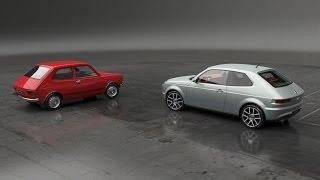 Fiat 127 Concept / Abarth 127 Concept _ HQ