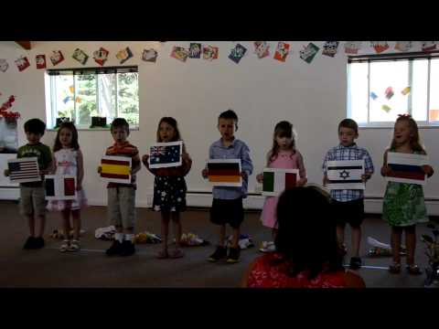 """Hello to All the Children of the World"" ~ Montessori Kindergarten Class"