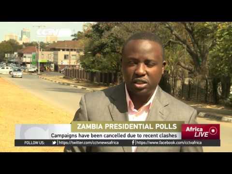 Zambia Presidential Polls: Election campaigns suspended for 10 days