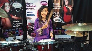 P Ramlee - Madu Tiga - Drum Cover by Nur Amira Syahira