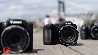 Review of Canon SX510, Nikon L830 & Sony H400 SuperZoom