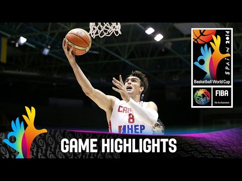 Croatia v Puerto Rico - Game Highlights - Group B - 2014 FIBA Basketball World Cup