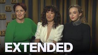 Sandra Oh, Jodie Comer, Fiona Shaw Talk 'Killing Eve' Season 2    EXTENDED