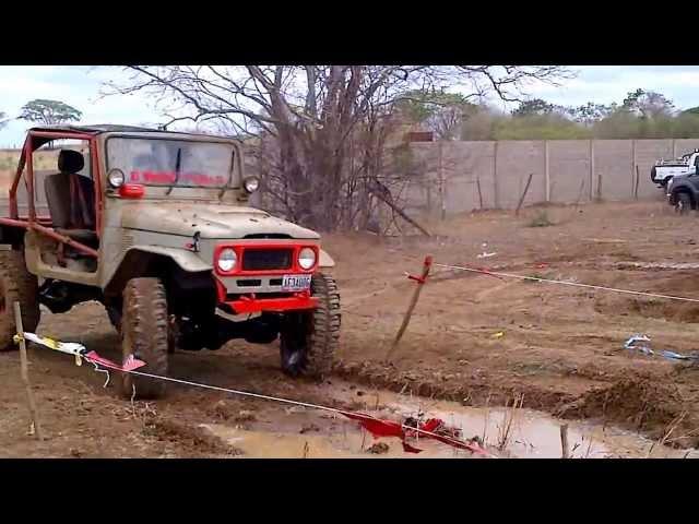 Rusty Trial, El Viejito  Team Aula 21, Valle de la Pascua, Parte 2 17 03 2013