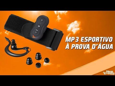 MP3 Esportivo a Prova D'Agua Atrio - ES054 | Mega Empório