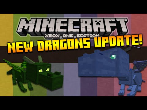★Minecraft Xbox 360 + PS3 NEW! Secret Title Update 24 OUT NOW - 3 NEW Dragons + Hatchable Eggs★