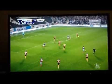[1080p] Enner Valencia sensational goal vs Hull City