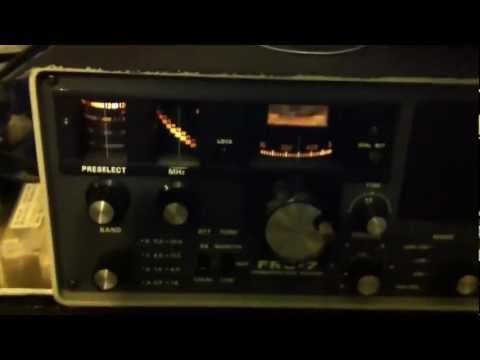 QRN from Ups (noise) on radio frequencies trough long wire antenna onYaesu FRG-7 , Icom IC-r75