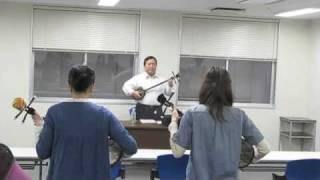 入米倶楽部 大須教室 課題曲練習 祝い節