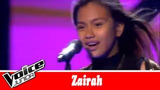 Zairah synger Zara Larsson Lush life Voice Junior Kvartfinale