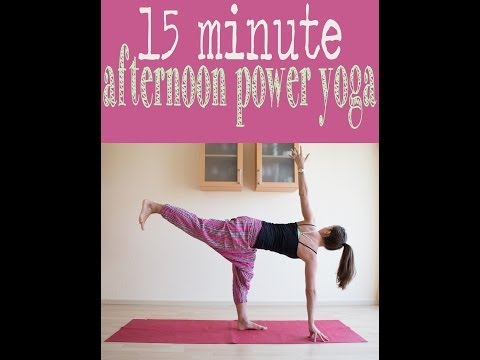 15 minute afternoon power yoga flow Image 1