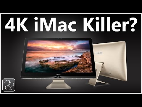 4K iMac Killer?  - ASUS Zen AiO Pro Review and Unbox