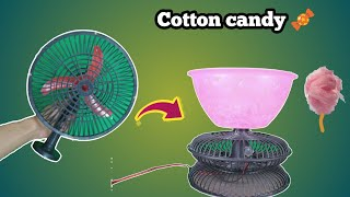 How to make cotton candy machine at home| new 2018 tricks |