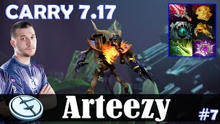 Arteezy - Clinkz Safelane | CARRY 7.17 Update Patch | Dota 2 Pro MMR Gameplay #7