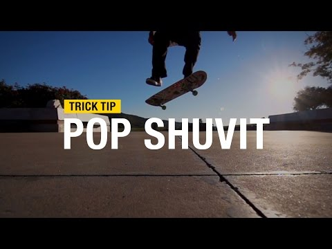 Trick Tip: How to Pop Shuvit with Andrew Cannon