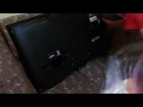 TV Sony Bravia KDL W805A / Unboxing / PT-BR