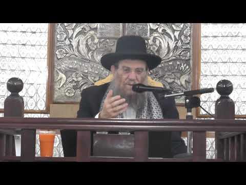 """הרב יצחק ברדא - פרשת ויצא - התשע""""ח 19.11.17"""