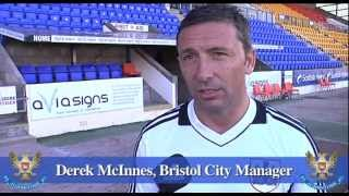 St Johnstone v Bristol City highlights