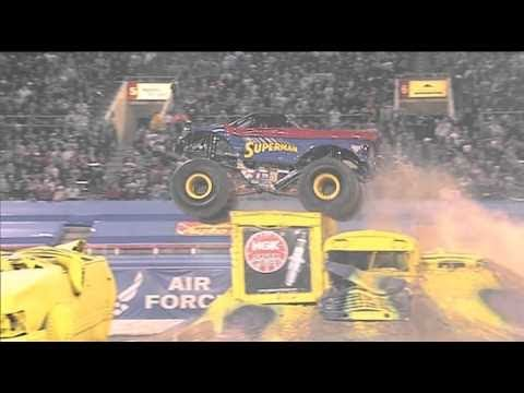 Superman Freestyle Monster Jam World Finals XI