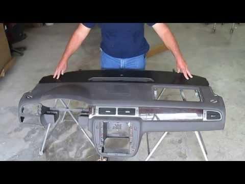 2007-2011 Tahoe Yukon Suburban Escalade Vent Section Dashboard Cap Installation Video