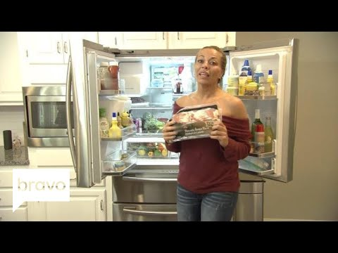 RHONJ: What Does Dolores Catania Keep In Her Very Healthy Refrigerator? (S9, E1)   Bravo
