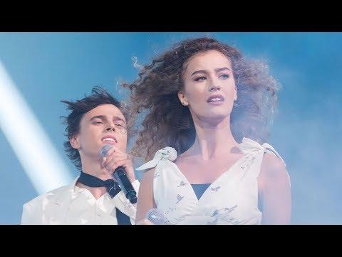 «Новая Фабрика звезд». Ульяна Синецкая и Алексеев - «Чувствую душой»