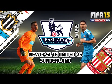 BPL: Game of the Week - Newcastle vs Sunderland (FIFA 15 Simulation) 21-12-2014