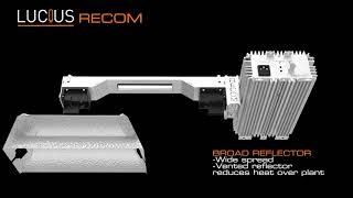 LUCIUS RECOM | 1000W DOUBLE ENDED | GROW LIGHT