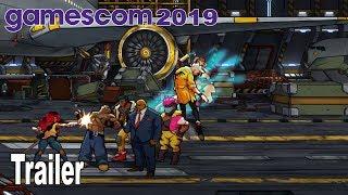 Streets of Rage 4 - Gamescom 2019 Trailer [HD 1080P]