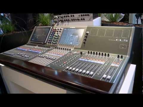 (EN) Yamaha CL Series, Digital Mixer / Musikmesse 2012