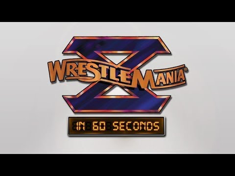 Wrestlemania In 60 Seconds: Wrestlemania X video