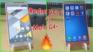 Moto G4 PLUS VS Redmi Note 3 Speed test Comparison! After new updates! Equally good?