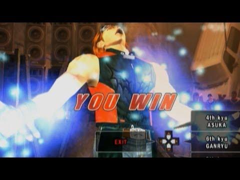 Tekken 5 - Hwoarang With Devil Jin's Moves video