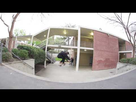 Jeff DeChesare Nollie Flip 11 Stair Line