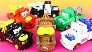 Disney Pixar Cars 3 Mater Dreams Rescuing Imaginext Justice League Lightning McQueen Battle Lemons