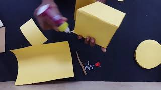 Mobile phone stand using cardboard-how to make