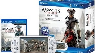 Unboxing The PS Vita - Assassin's Creed III_ Liberation (Limited Edition Bundle)