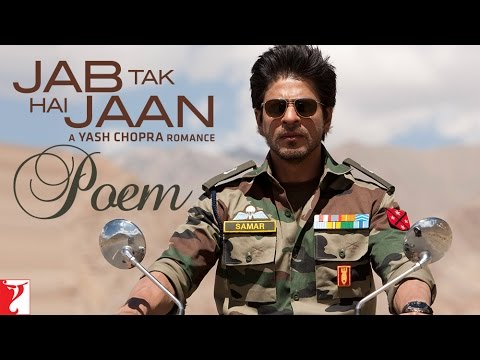 Jab Tak Hai Jaan - Poem With Opening Credits video