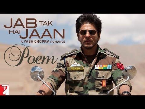 Ar Rahman - Jab Tak Hai Jaan Poetryteri Ankho Ki Namkeen Mastiya