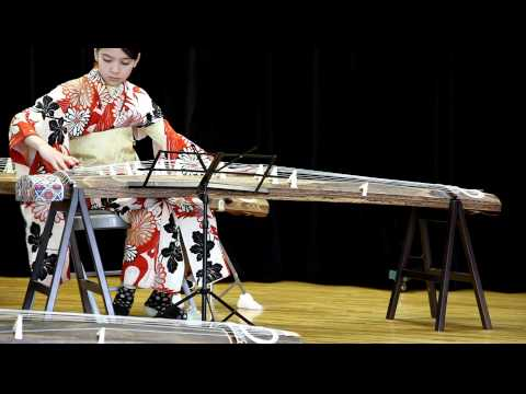 Chanapa Playing Koto