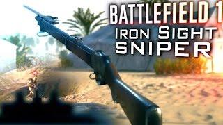 IRON SIGHT SNIPER | BATTLEFIELD 1: Martini-Henry Sniping Gameplay [60fps]