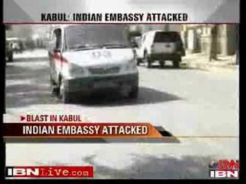 Suicide attack on India consulate in Afghanistan
