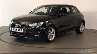 GX15WDP AUDI A1 TDI SPORT BLACK 2015, Nottingham Audi